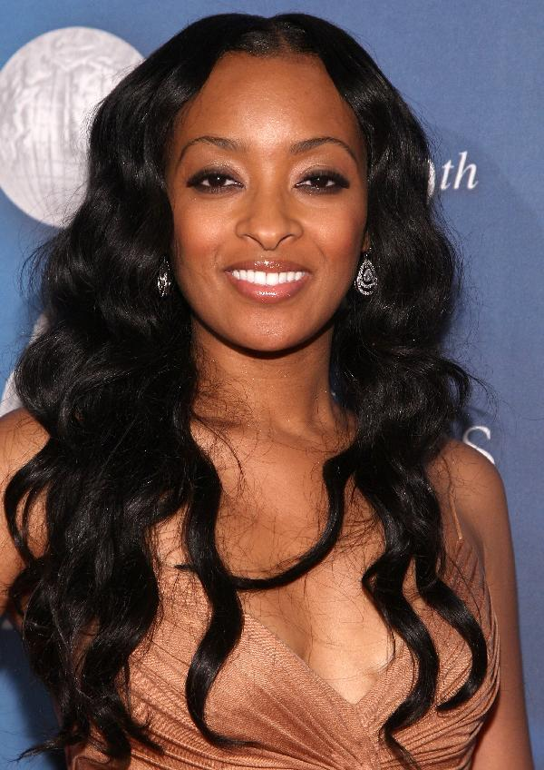 Hairstyles for black women with layers and fringes
