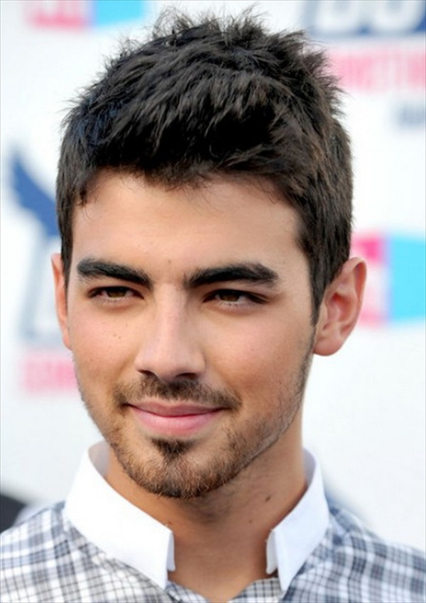 Hairstyle for Men with Side Shaved Look: