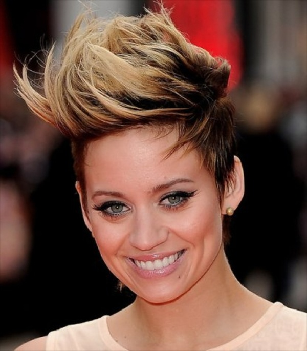 Mohawk hairstyles for women with short hair
