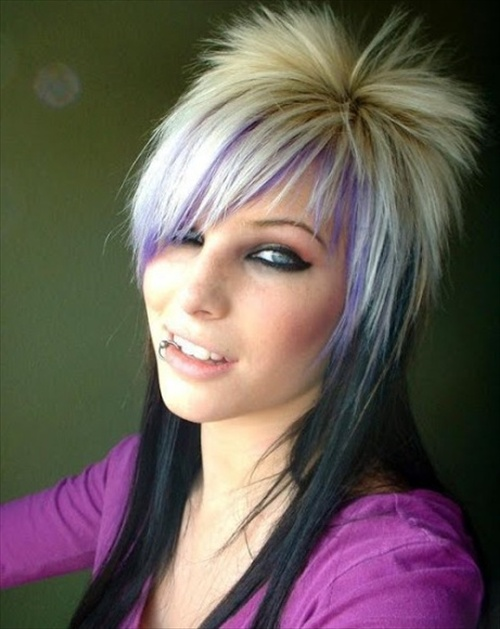 Brilliant Latest Punk Hairstyles 2013 For Women Amp Girls Hairstyles 2017 Short Hairstyles For Black Women Fulllsitofus