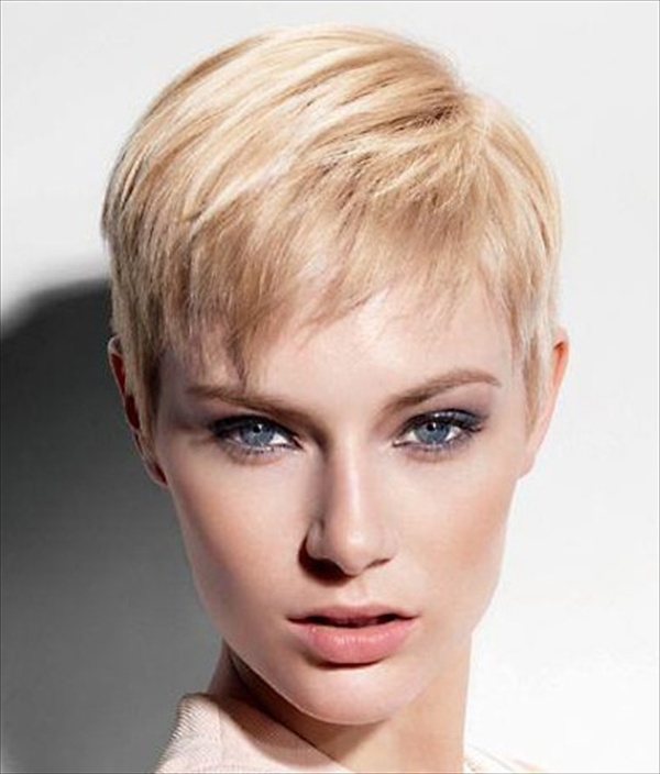 Extremely Short Hair women