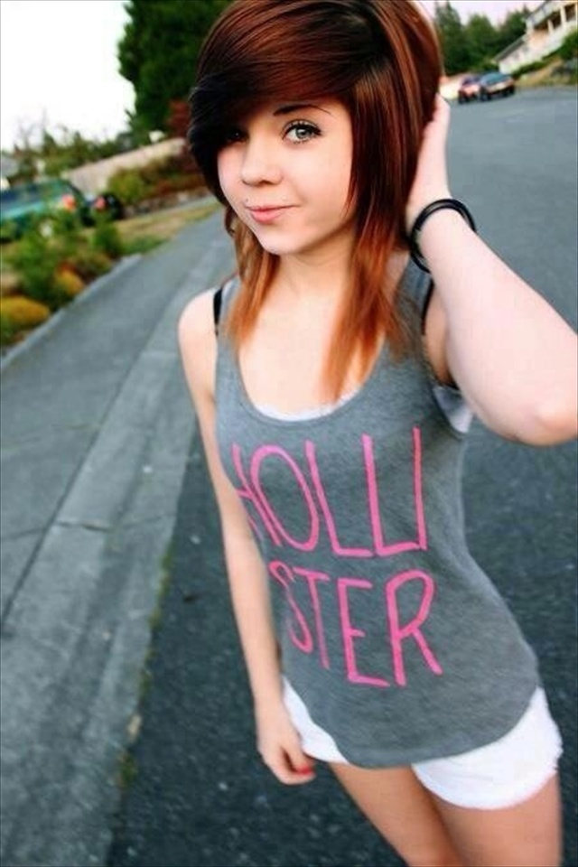 Swell 13 Cute Emo Hairstyles For Girls Being Different Is Good Short Hairstyles For Black Women Fulllsitofus