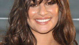 Beautiful Lea Michele Hair Color