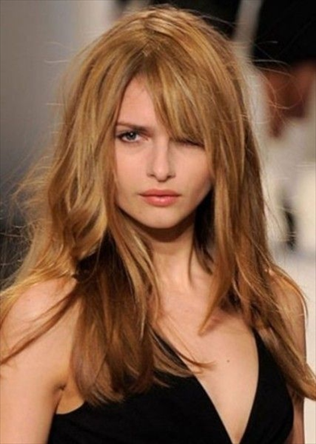 Wondrous Round Face Haircuts Long Hair Best Hairstyles 2017 Short Hairstyles Gunalazisus