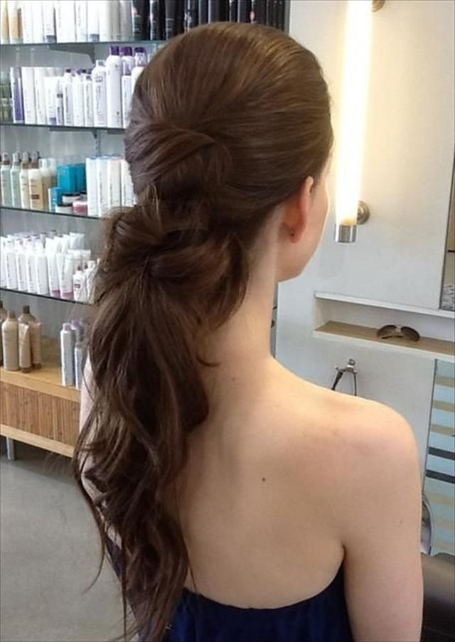 Fine 16 Simple And Modern Prom Long Hairstyles 2014 Hairstyles 2017 Short Hairstyles Gunalazisus