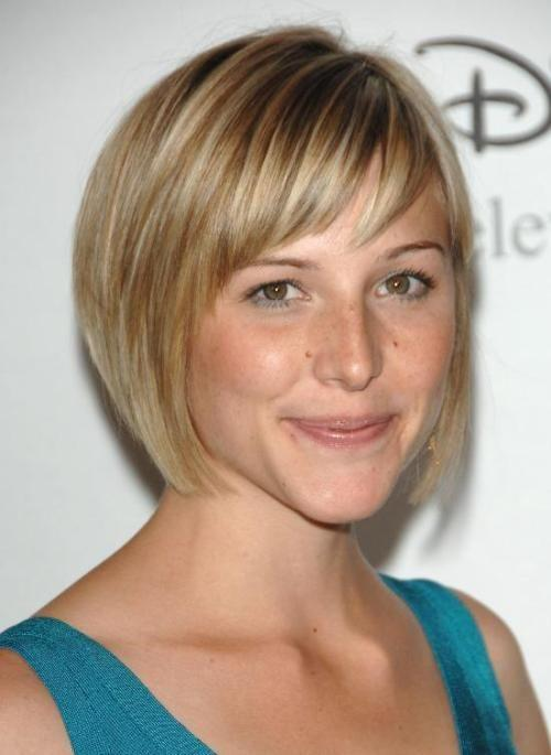 Latest short hairstyles for round faces hairstyles 2017