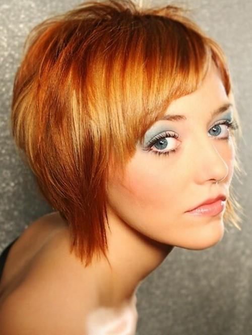 short edgy hairstyles for round faces MEMEs