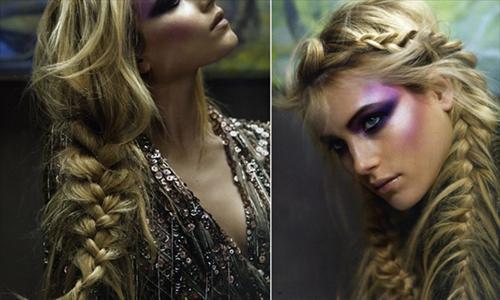 fishtail hair cut for girls