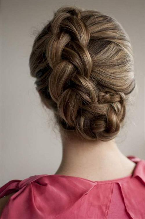 hair up dos fashion for girls