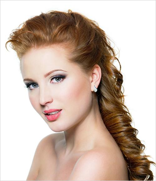 snake tail braid hairstyle for woman