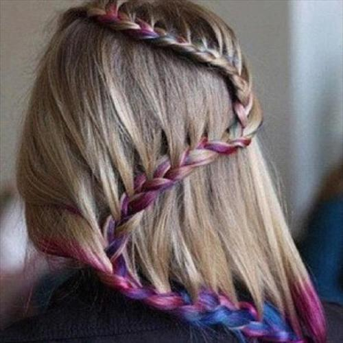 snake tail braid hairstyle for girls