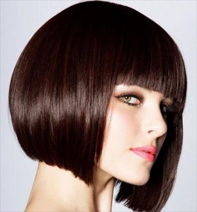 teenage girls short bang hairstyles